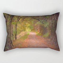 """Color tunnel"". Autumn dreams Rectangular Pillow"