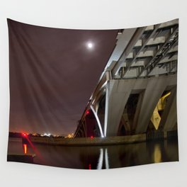 Wilson Bridge, November Wall Tapestry