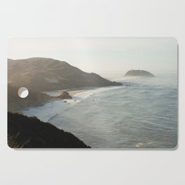 Sunrise over Big Sur Cutting Board