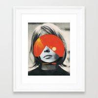 girls Framed Art Prints featuring girls by Hugo Barros