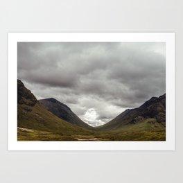 Scottish Valley Art Print