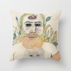 three men Throw Pillow