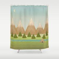 twilight Shower Curtains featuring Twilight by Tammy Kushnir