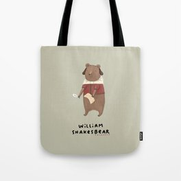 William Shakesbear Tote Bag
