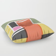 SECRET CYCLING FLAG - VOIGT Floor Pillow