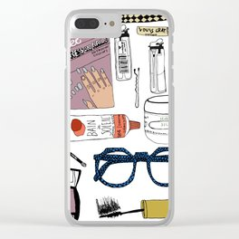 Makeup Clear iPhone Case