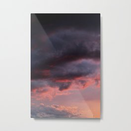Sunset Atlas Metal Print