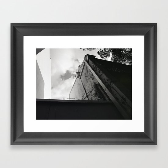 Bordered light Framed Art Print