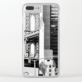 City Architecture Collage Clear iPhone Case