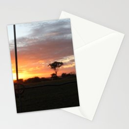 Paddocks of Mt Trio   Stationery Cards