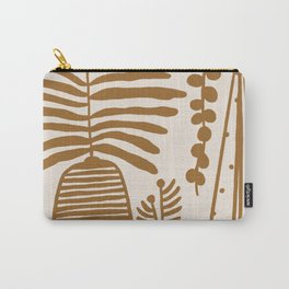 Mustard Plants Carry-All Pouch