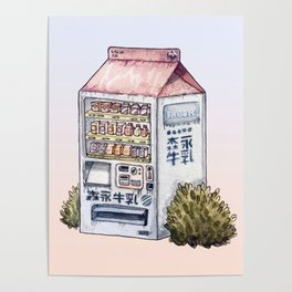 Sunset Snack Poster