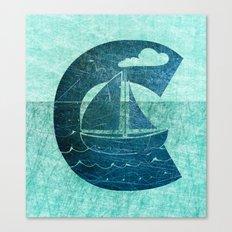 Sail Across the Sea Canvas Print