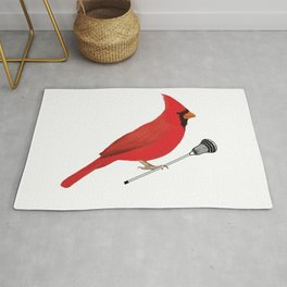 Lacrosse Cardinal  Rug