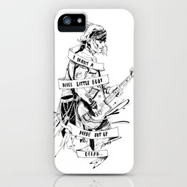 I WANT A NICE LITTLE BOAT MADE OUT OF OCEAN iPhone Case