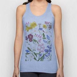 Spring Flowers Unisex Tank Top