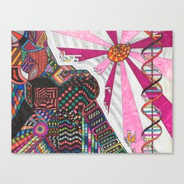 Dekotora Predator Canvas Print