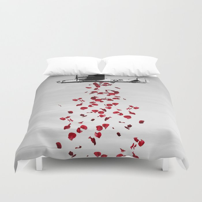 More Love Please! Duvet Cover
