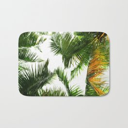 the tropical coconut is here Bath Mat