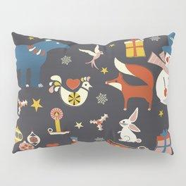 Christmas symbols pattern Pillow Sham
