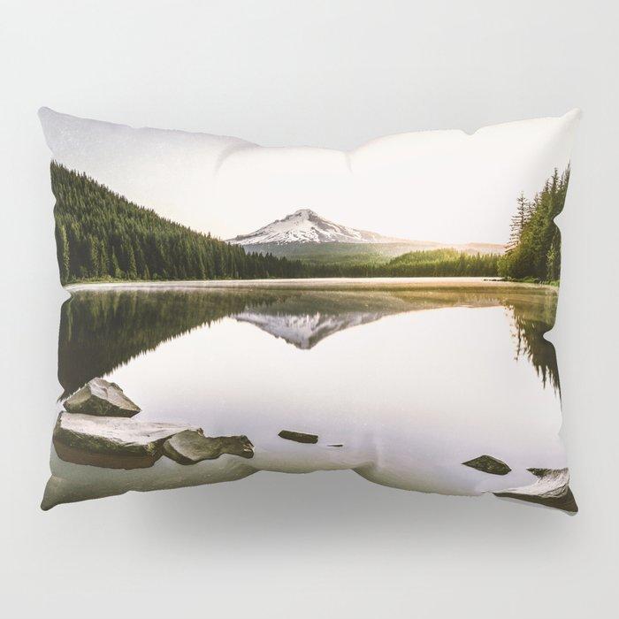 Fantastic Morning - Mount Hood Reflection Pillow Sham