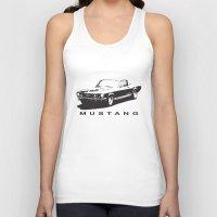 mustang Tank Tops featuring Mustang Design by kartalpaf