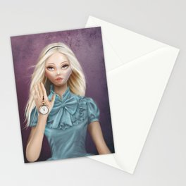 Alice - Cameo Portrait Stationery Cards