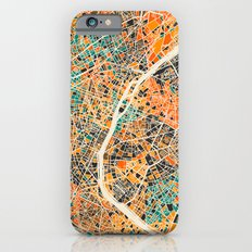 Paris mosaic map #2 iPhone 6s Slim Case