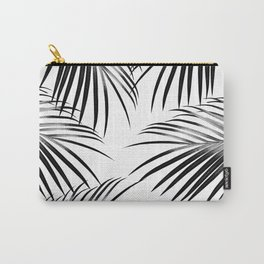 Black Palm Leaves Dream #2 #tropical #decor #art #society6 Carry-All Pouch
