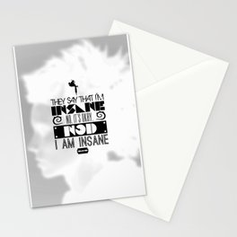 """""""Girl with the Dragon Tattoo"""" Typography Poster Stationery Cards"""