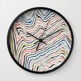 Contour 2 Wall Clock