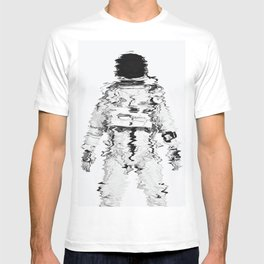 Melted spaceman T-shirt