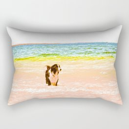 Candy Dog Rectangular Pillow