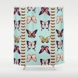 Butterfies II Shower Curtain