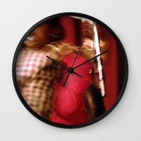 cuba Wall Clocks featuring Cuba Tuba by Sandra Ireland Images