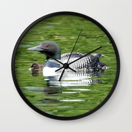 Under her watchful eye Wall Clock