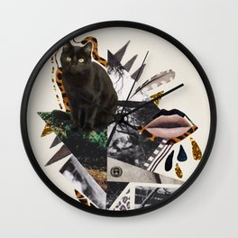 AYAHUASCA CAT Wall Clock
