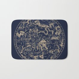 Gold Ceiling | Zodiac Skies Bath Mat