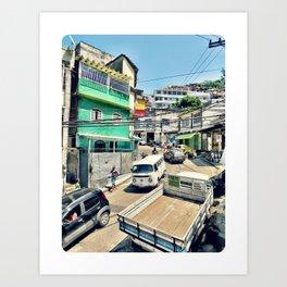 Roadside Attraction Art Print