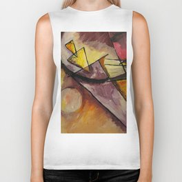 Abstract Forms Biker Tank