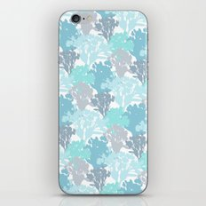Acer Bouquets - Blues iPhone & iPod Skin
