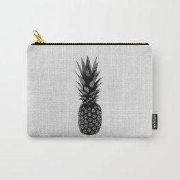 Pineapple Black & White Carry-All Pouch