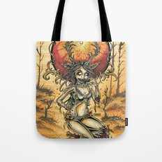 Zombie Jagger Girl Tote Bag
