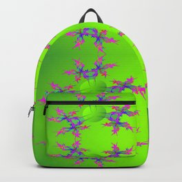 Abstract-lightning-pattern Backpack