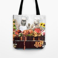 sloths Tote Bags featuring Sloths by Big AL