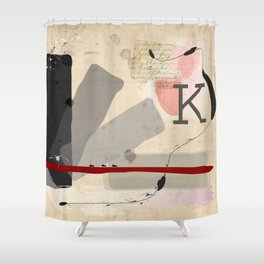 Letter to Felice Shower Curtain