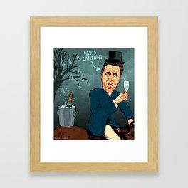 David Cameron Framed Art Print