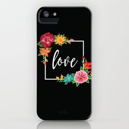 Floral Love I. iPhone Case