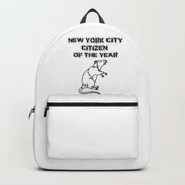 NYC Citizen of the Year Rat Backpack