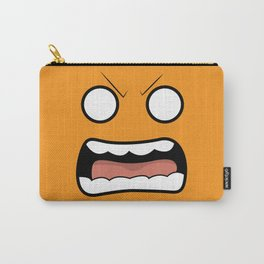 Scary Face Carry-All Pouch